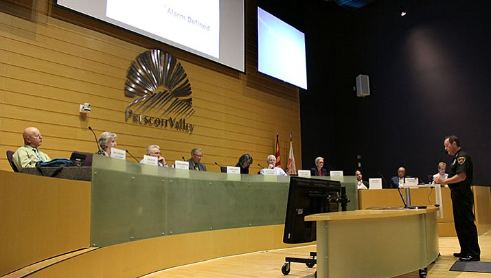 PVPD asks Town Council to change burglar alarm response