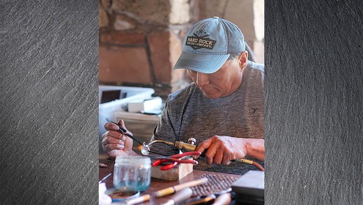 Art, spirituality and serenity: Hopi silversmith Duane Tawahongva infuses Hopi beliefs into art