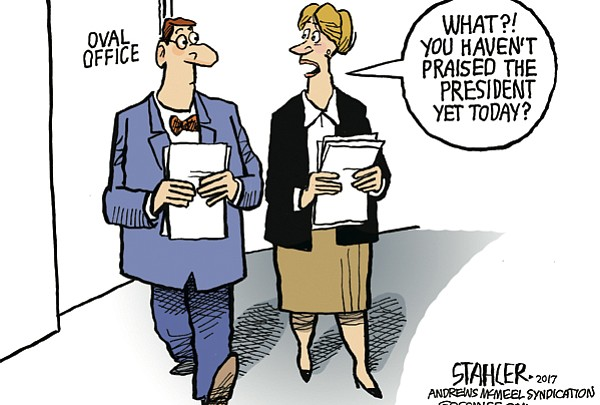 Editorial Cartoon: June 21, 2017