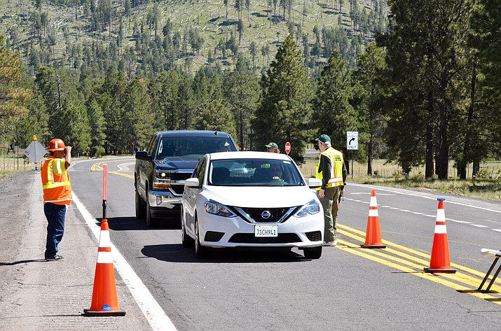 Highway 180, north of Flagstaff, reopened June 20. The road was closed because of smoke impacts from the Boundary Fire.
