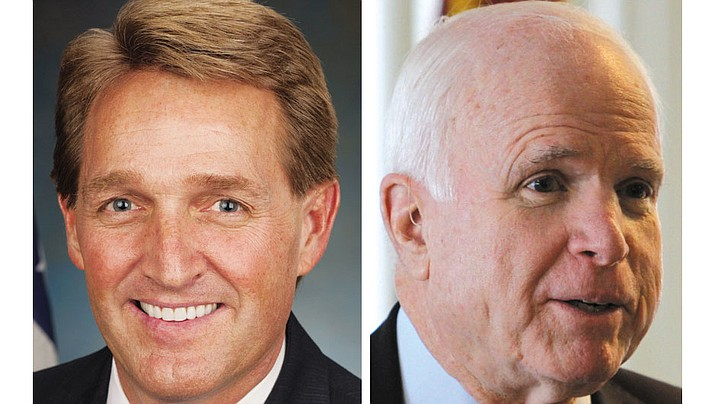 Sens. Jeff Flake and John McCain