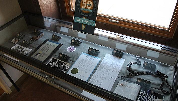Prescott College continues 50th anniversary celebration with time capsule