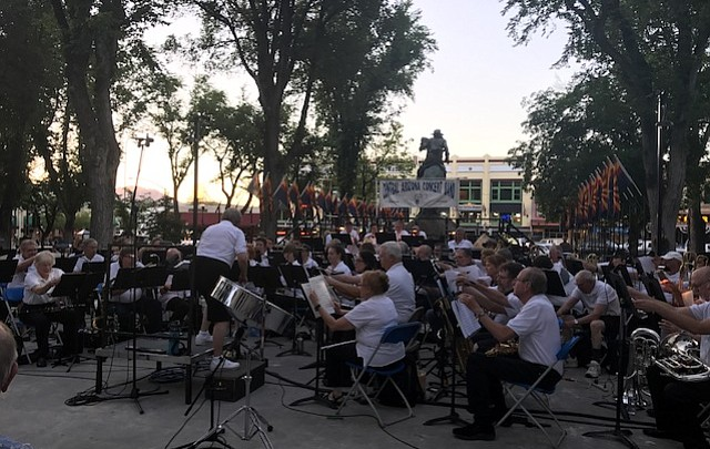 Two big bands will provide danceable jazz Tuesday at Courthouse Plaza