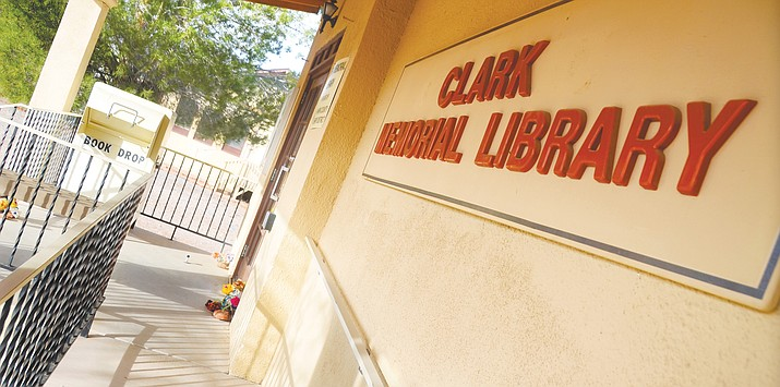 Although the Clark Memorial Library will be closing its doors on June 30, the closure may be more temporary than anyone had imagined thanks to a proposal that recently surfaced from Yavapai County Free Library District Director Corey Christians. (VVN File Photo)