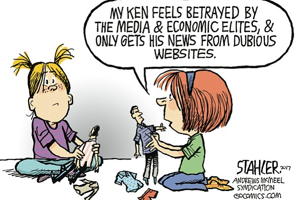 Editorial Cartoon: June 23, 2017
