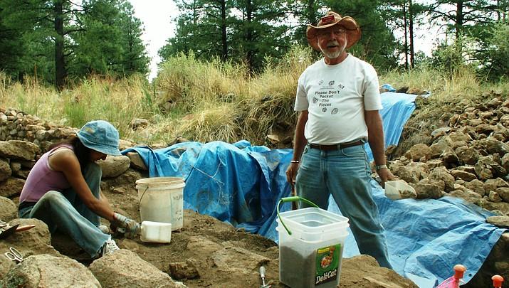 Forest volunteer Dr. Ronald Krug receives Governor's Award for Avocational Archaeology