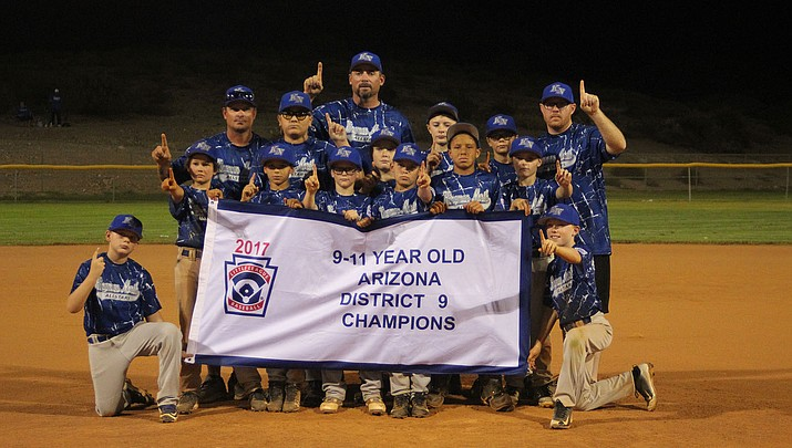 Little League: Kingman North 9-11s win District 9 Tournament Championship