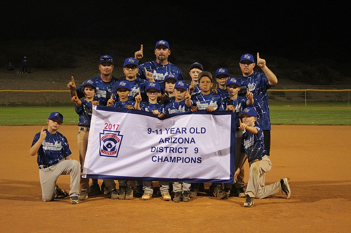 The Kingman North 9-11 All Stars won the District 9 Tournament Championship Friday with a 23-0 win at Southside Park.