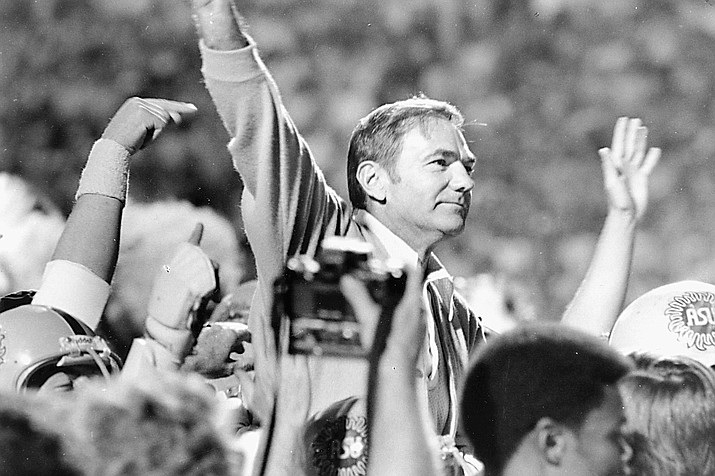 Frank Kush is the winningest football coach in Arizona State history. (Photo courtesy Arizona State Athletics)
