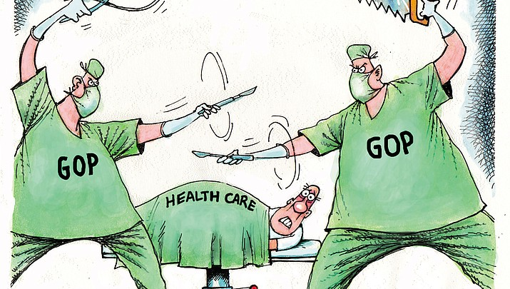 Editorial Cartoon: June 25, 2017