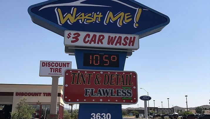 Wash Me Car Wash at 3630 Stockton Hill Road