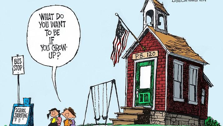 Editorial Cartoon A: June 26, 2017