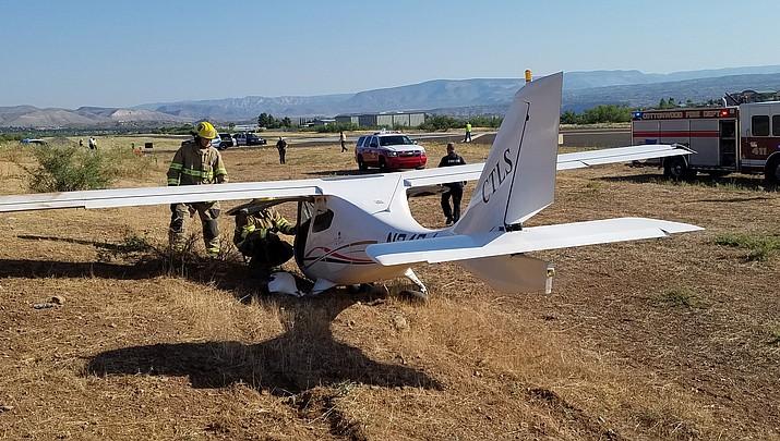 No injuries in crash landing at Cottonwood Airport