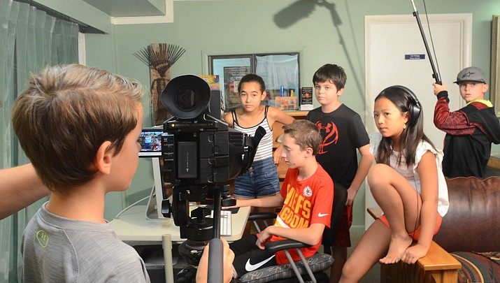 Students get creative with film-making