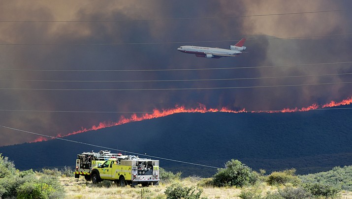 Goodwin Fire grows to about 20,000 acres, still 1% contained
