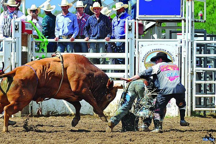 The Prescott Frontier Days Rodeo began on July 4, 1888 and is recognized as the first official rodeo, though it wasn't called that then. Others, however, had cowboy competitions before that date.