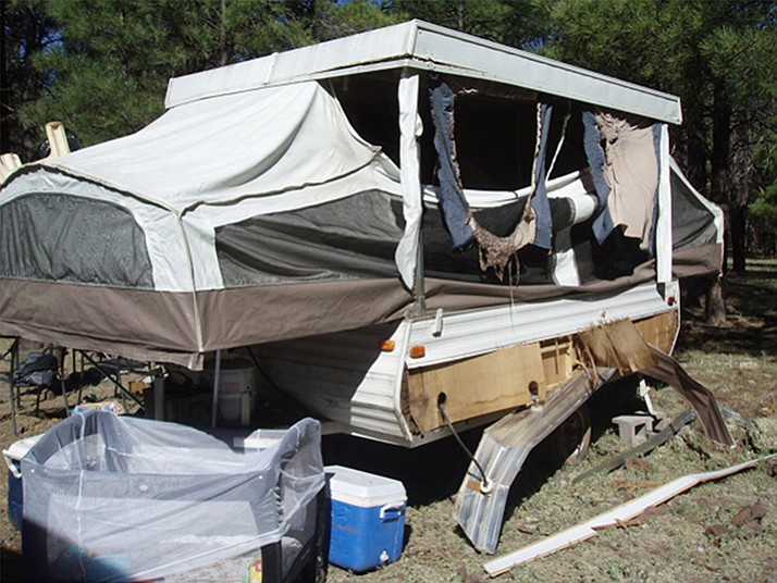 A man received extensive burns while lighting a stove in a tent trailer at Dogtown Lake & Man critical following tent trailer explosion at Dogtown ...