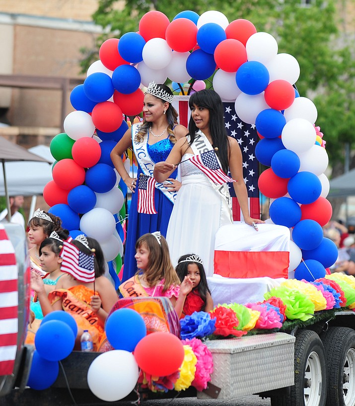 "Highlights from the 2015 Prescott Frontier Days Rodeo Parade Saturday, July 4, 2015, in downtown Prescott. The 2017 parade is set to begin at 9 a.m. Saturday, July 1, with a theme of ""Legends Live Among us."""