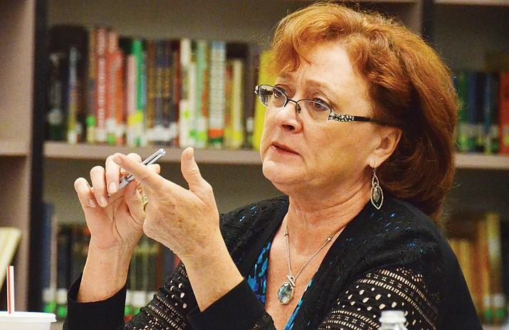Mingus School Board President Anita Glazar. VVN/Bill Helm