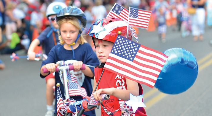 Clarkdale's tradition-rich July 4 activities will begin at the town park at 7 a.m. with the Raising of the Colors by VFW Post 7400 followed by a pancake breakfast hosted by the Clarkdale Police Department and the Verde Valley Fire District.  At 9 a.m., the 4th of July Kids' Parade begins at the Clarkdale-Jerome School and continues down Main Street through the business district. VVN/Vyto Starinskas