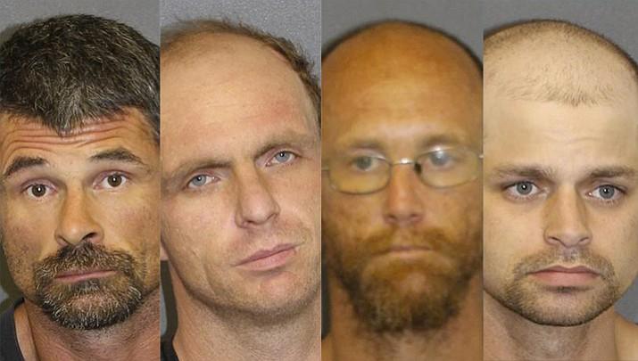 Edward Ernest Bentz, Nic Leo Glotkowski, Jason Dean Yost, Joseph Kjelgarrd.