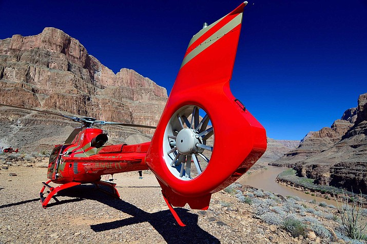 Grand Canyon West will now offer a combined helicopter and river rafting tour.