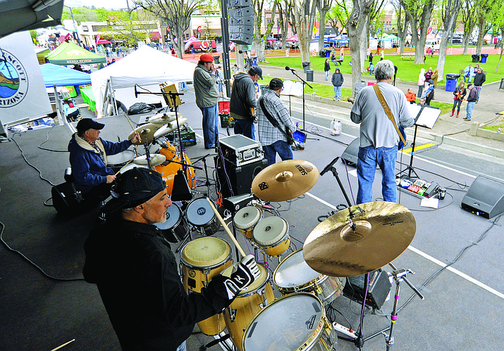 Road 1 South performs at 6:30 p.m. Friday, July 7, on courthouse plaza in downtown Prescott. Part of the 2017 Prescott Summer Concert Series, this event also kicks off National Night Out, with officers and deputies from Yavapai County Sheriff's Office, and Prescott, Prescott Valley, Chino Valley and tribal police departments.