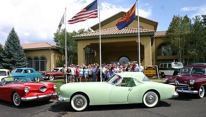 59th annual kaiser frazer owner s club car show thursday for Classic motor cars of ellington