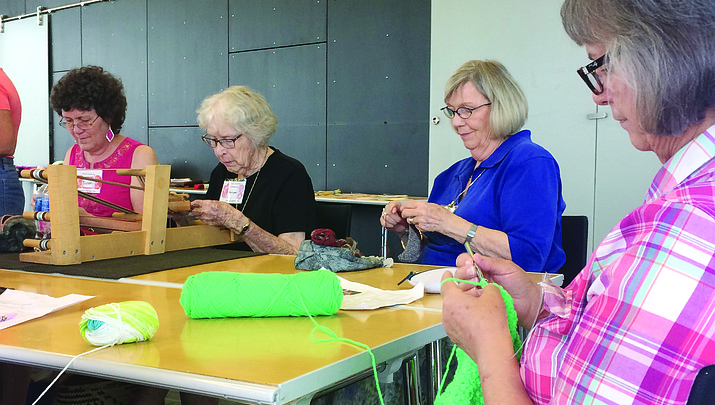 Crochet One, Knit Too meet-up for like-minded needle artists