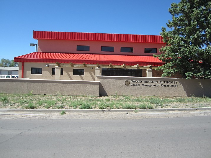 The Navajo Housing Authority building in Window Rock, Arizona. Katherine Locke/NHO