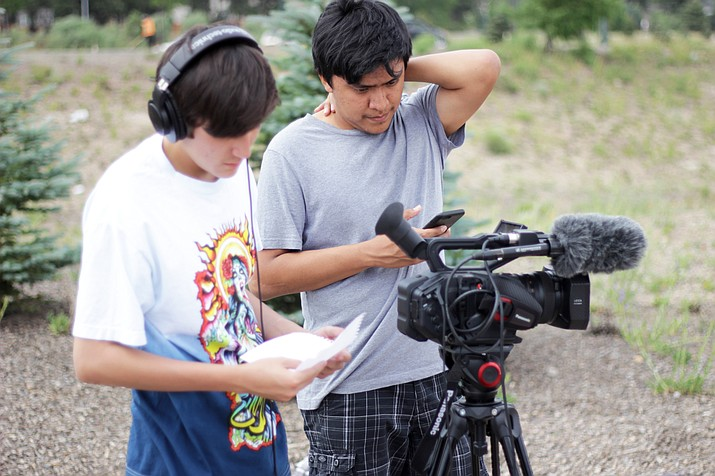 Students from Native American tribes attend the 6th annual Andy Harvey Native American Broadcast workshop at Northern Arizona University June 18-24. Submitted photo