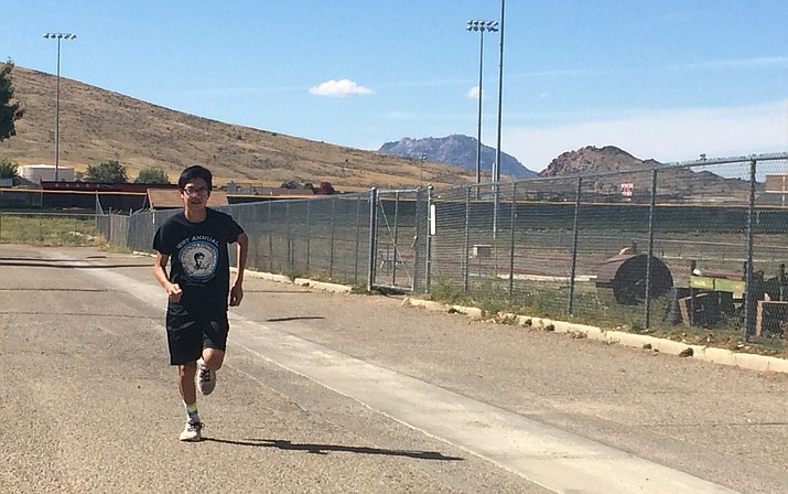 Riley runs to bring a basic necessity to the Hopi tribe that he is from, water.