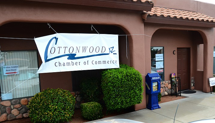 The Cottonwood Chamber of Commerce's new headquarters is located at  849 Cove Parkway in Cottonwood.