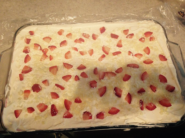 Strawberry lasagna
