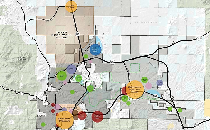 More than 10,000 new homes are planned for the Deep Well Ranch development, which could take three decades to build out fully. Public comment on the project begins this week.