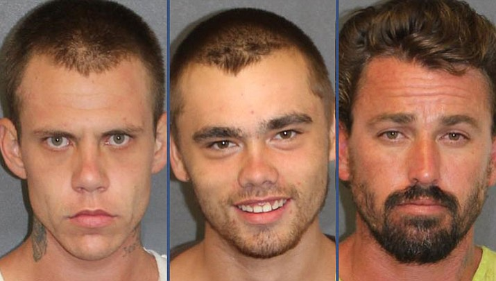 Gregory Christopher Ruehl, Jr., Travis Ray Hughes and Jordan Dean Tyson