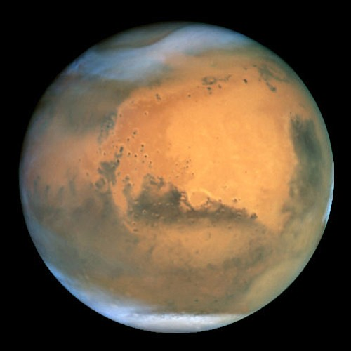 Mars-NASA and The Hubble Heritage Team/Courtesy