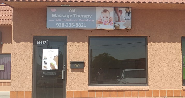 AB Massage Therapy recently moved to its new location at Midtown Plaza, located 468 S. Main St., Suite A, in Cottonwood. (Courtesy Photo)