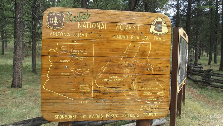 Out and about: hiking the Arizona Trail from Jacob Lake