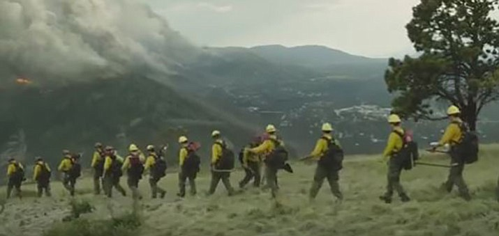 "A scene from ""Only the Brave."""