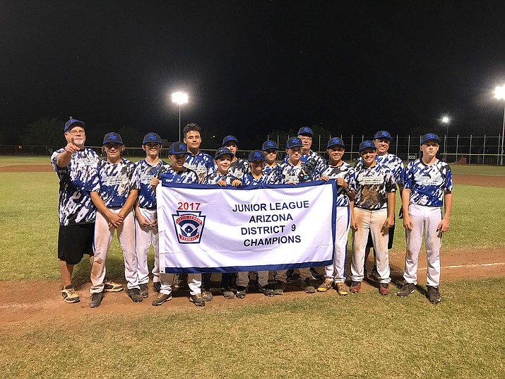 The Kingman North Little League Juniors look to avoid elimination Wednesday night against Tucson Randolph in the consolation bracket of the Arizona State Tournament in Phoenix.