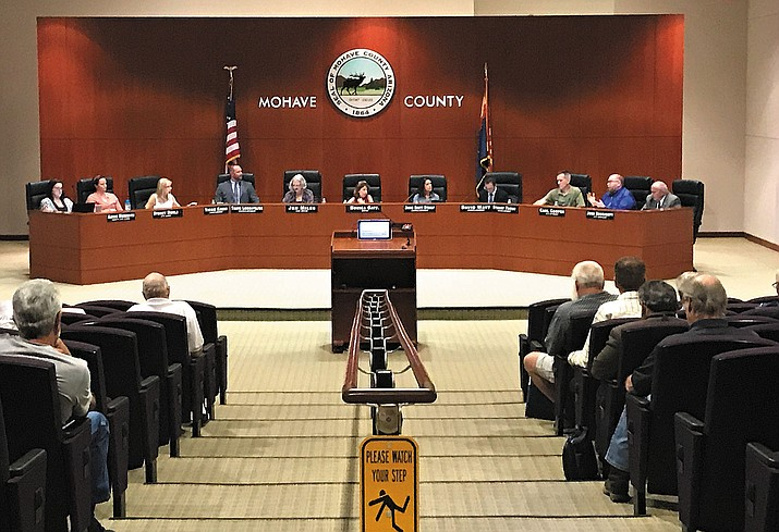 Kingman City Council has been using the Mohave County Administration building for its bi-monthly common council meetings.