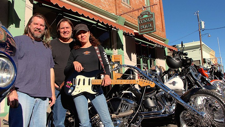 Llory McDonald and Combo Deluxe plays every other weekend at Jersey Lilly Saloon