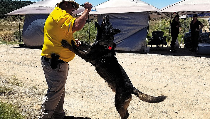 Hualapai Nation K-9 officer laid to rest