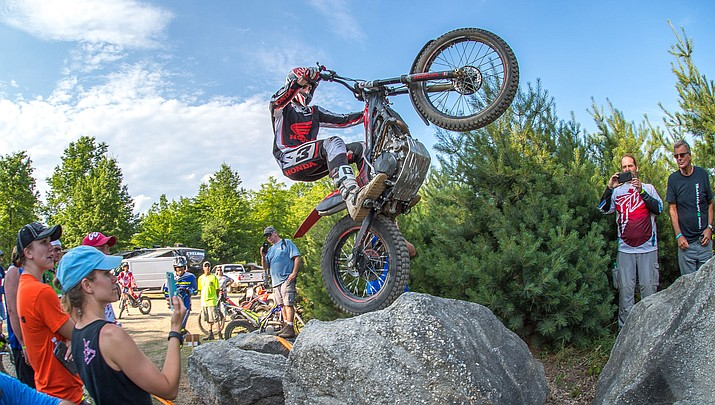 70 motorcycle riders to compete in the TrialGP Wagner Cup in the Hualapais