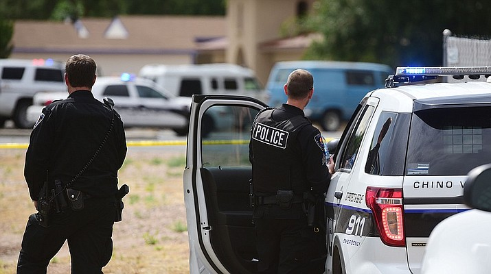 Martin Louis Avena's vehicle, an older-model blue van, was spotted in Chino Valley and pulled over in the 400 block of Palomino Road. The 70-year-old was shot by a YCSO deputy and a Chino Valley Police Department officer on Friday after allegedly threatening them with a gun.