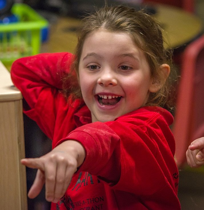 Piper Pauletto, preschooler at Sacred Heart Catholic Preschool. (Geoff Meza/Courtesy)