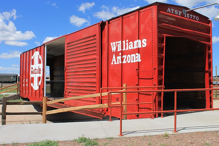 The Arizona Railroad Heritage Park in Williams hopes to open its doors early next year. Donations from local families and trusts have helped make the project possible.