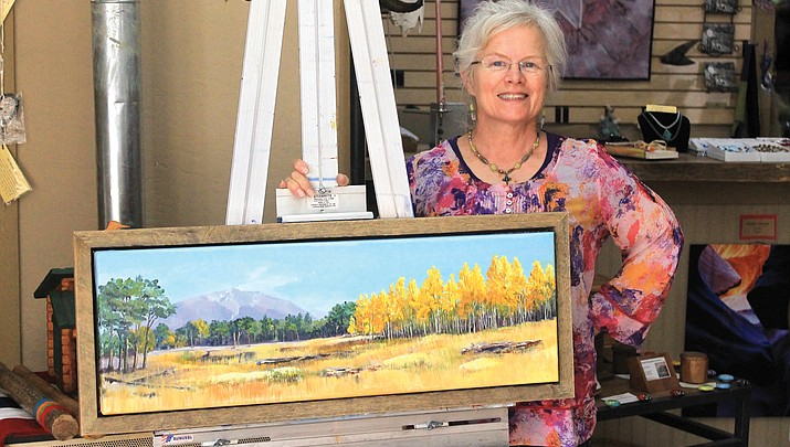 Featured artist: Mary Minnich creates with oils and acrylics