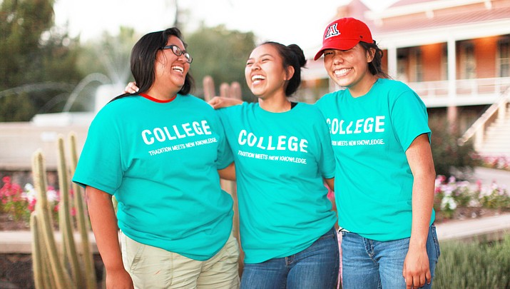 Students in the Native American Science & Engineering Program aim for success